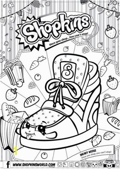 Coloring Pages Shopkins Printable