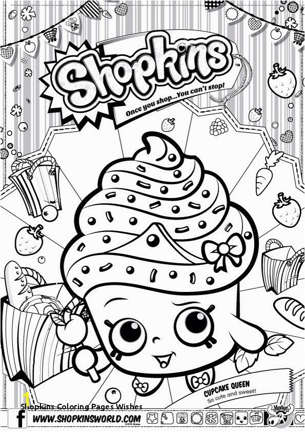 Shopkins Coloring Pages Wishes Shopkin Coloring Books Coloring Chrsistmas