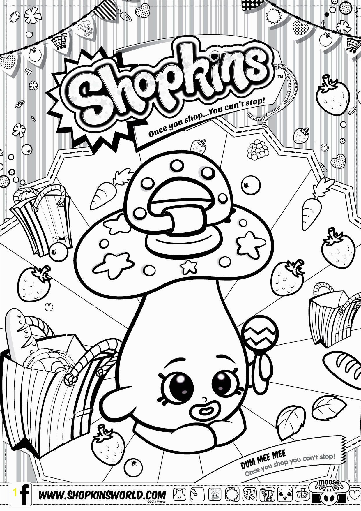 shopkin coloring sheets