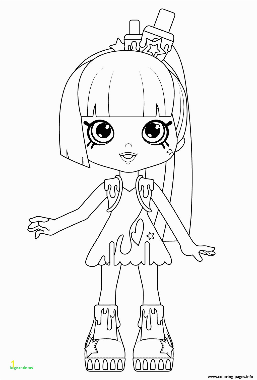 Coloring Pages for Girls Shopkins Printable Faces to Color Awesome Shopkins Happy Places Coloring Pages