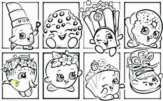 shopkins coloring sheets pages kooky cookie page for your ice cream
