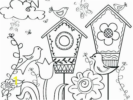 Simple Spring Coloring Pages Printable Spring Coloring Sheets Free Printable Spring Coloring Pages