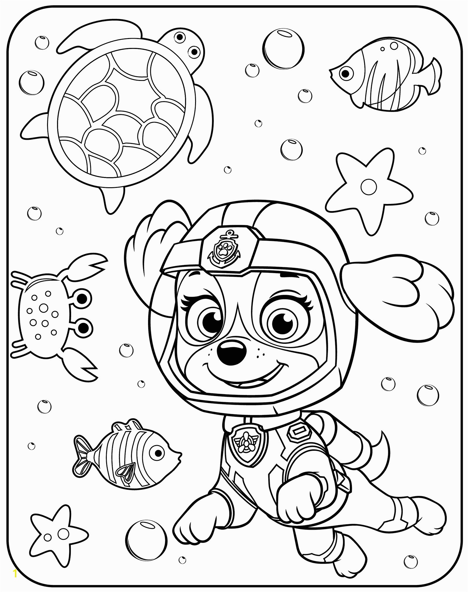Skye Paw Patrol Coloring Pages Coloring Pages