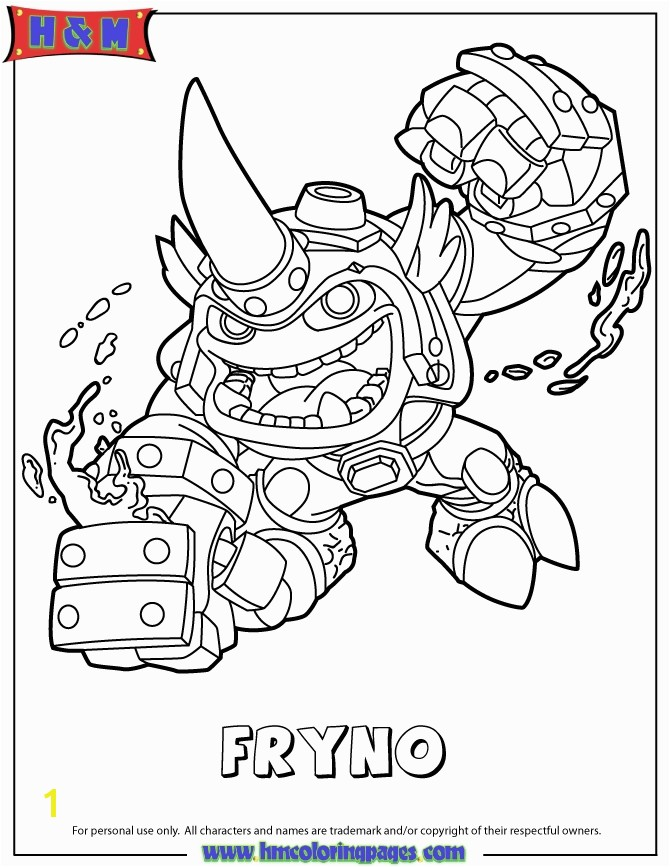 Skylander Giants Coloring Page Skylanders Coloring Books In Skylanders Coloring Pages Skylanders