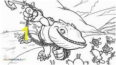 Thumpback Coloring Page