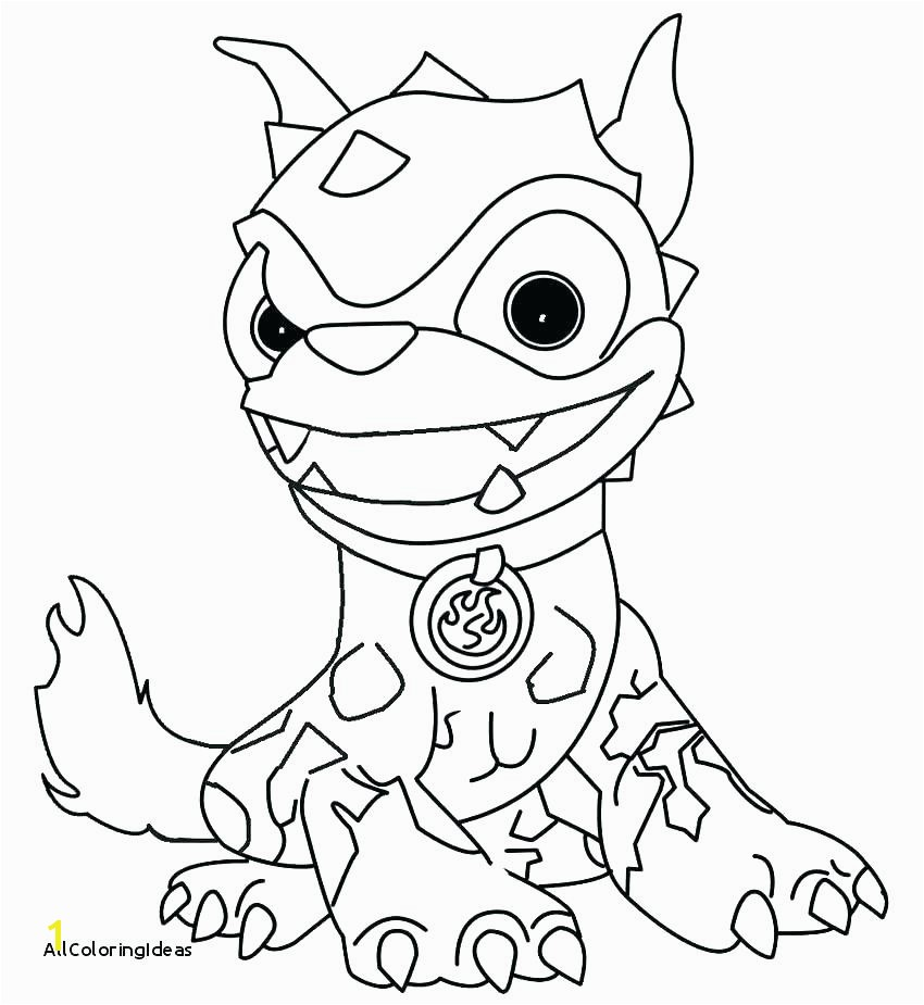 skylanders giants coloring pages lovely crusher luxury hot dog color printable pa