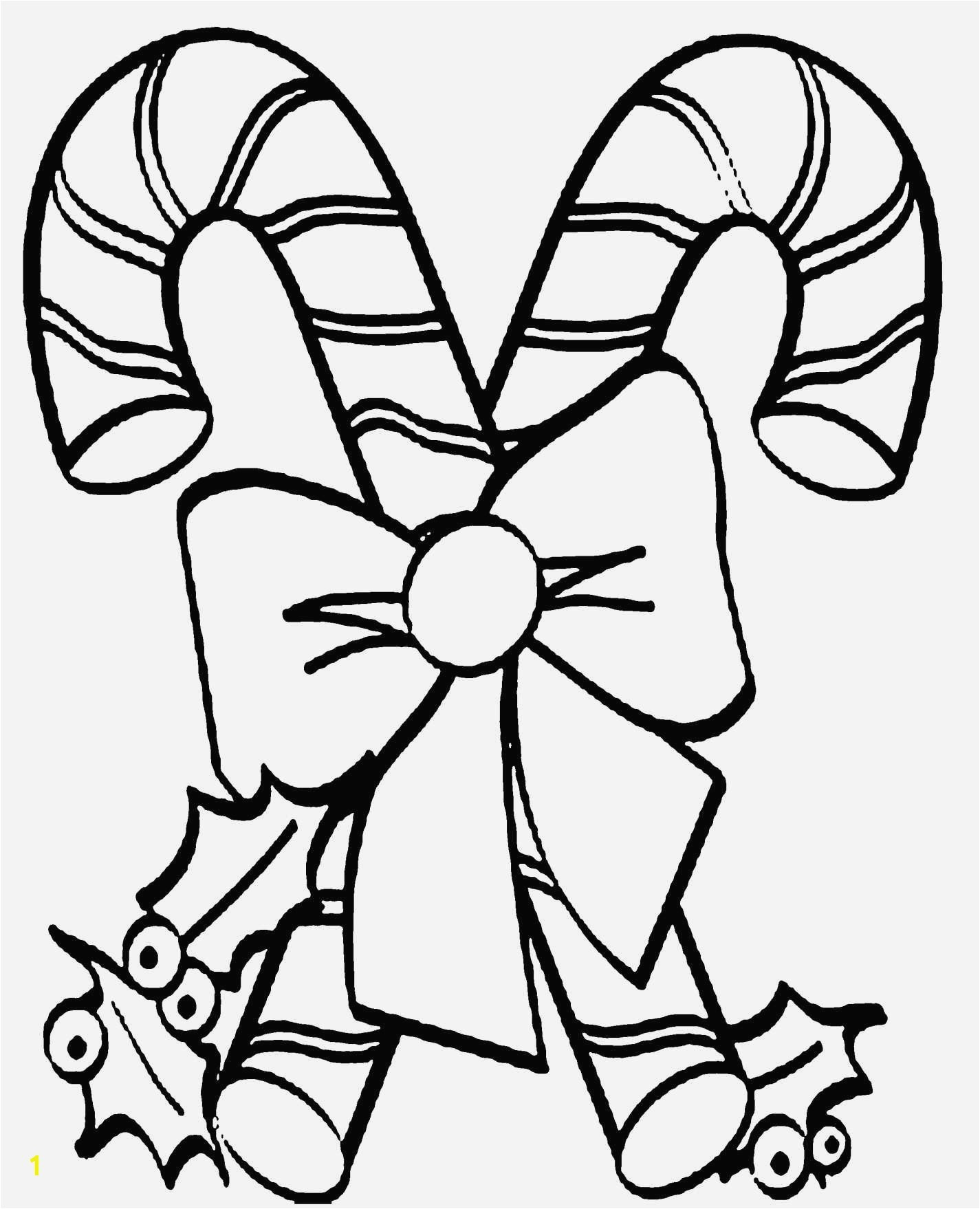 Printable Christmas Coloring Pages Candy Canes Candy Cane Coloring Pages New Hello Kitty Cartoon Coloring Page