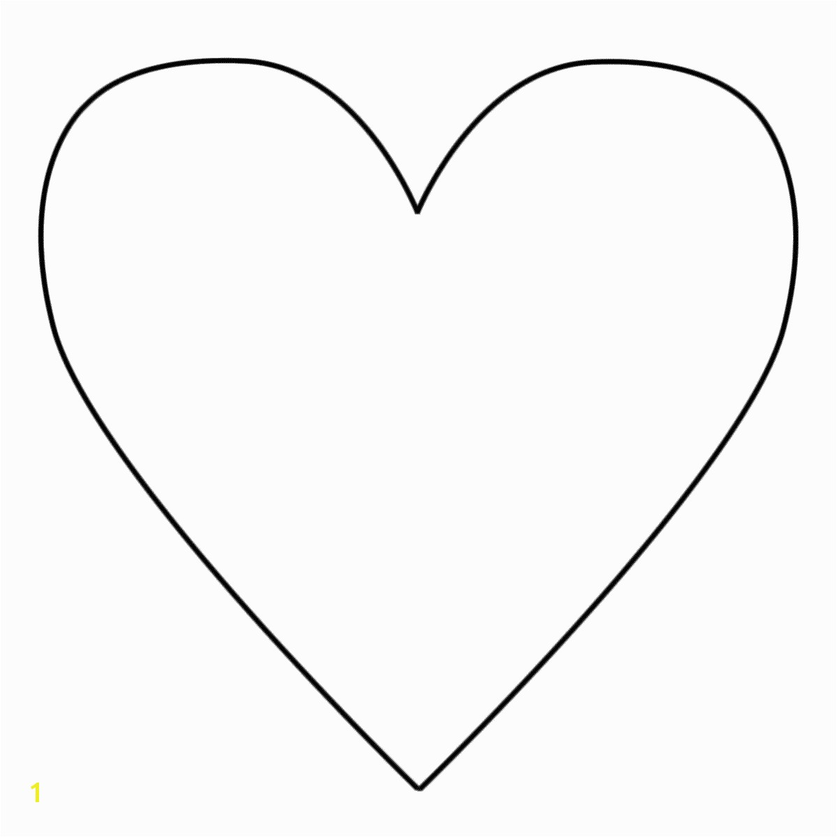 35 good heart template for cutouts for heart animals