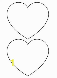 Free Printable Heart Templates – Medium & Small Stencils to Cut Out