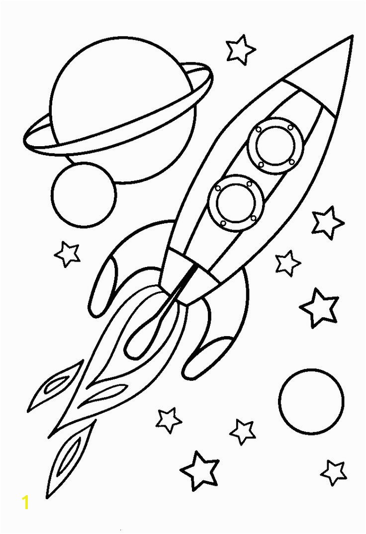 Small Rocket Ship Coloring Page 10 Best Spaceship Coloring Pages for toddlers