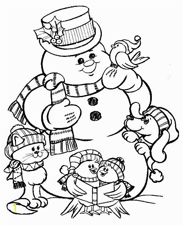 Kindergarten Coloring Pages Free New 70 Best Coloring Snowman Pinterest Kindergarten Coloring Pages