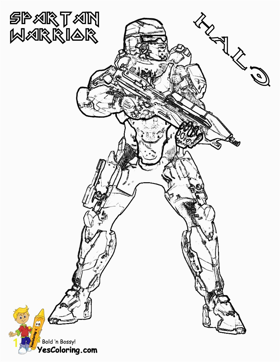 Great Warriors Coloring Pages Proven Spartan Amazing Warrior Unknown