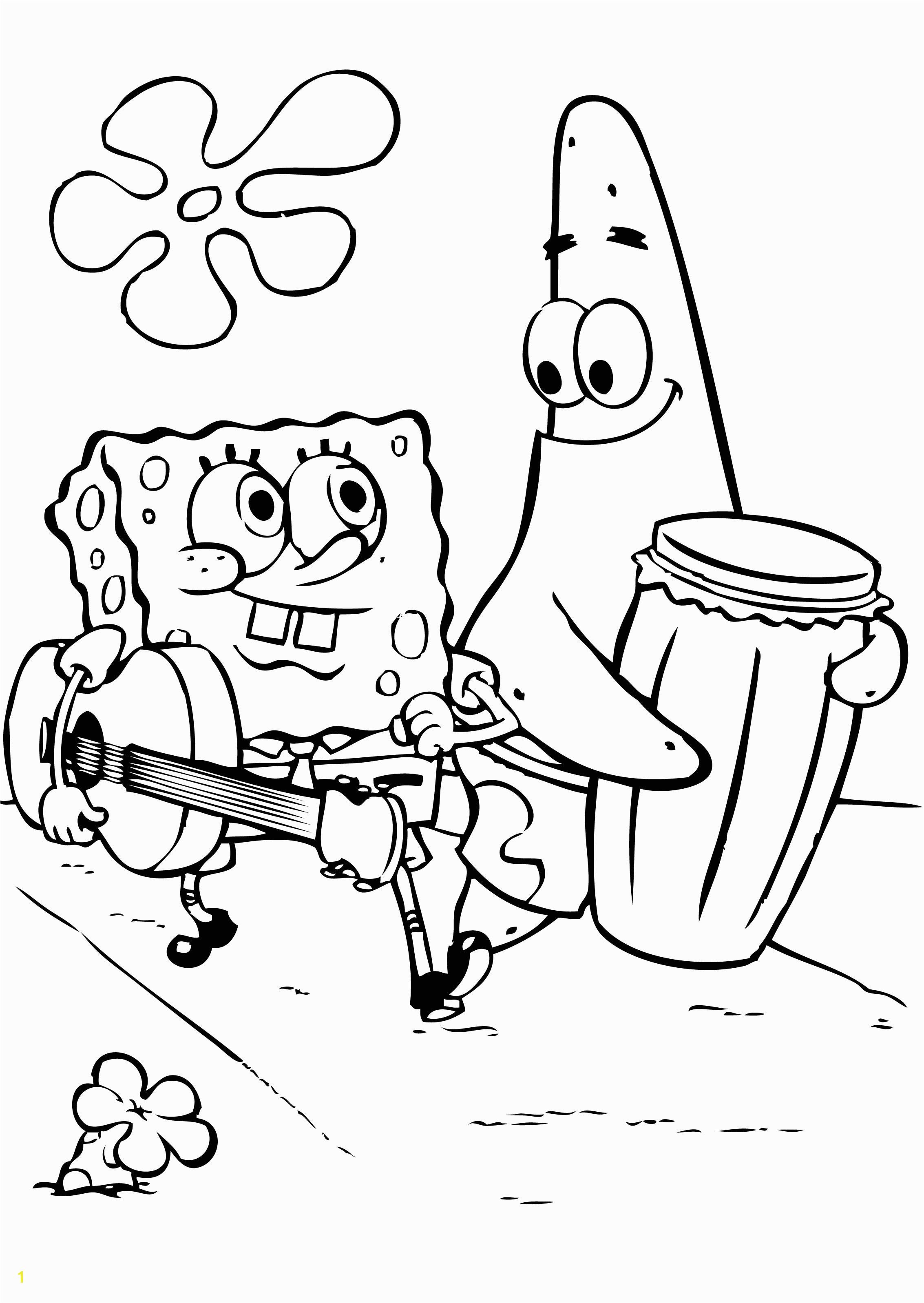 revisited sponge bob colouring pages kids cart