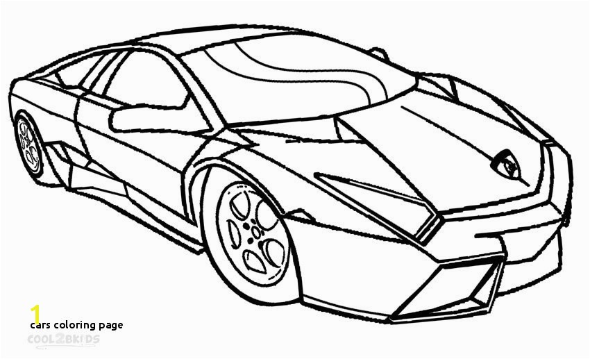 Sport Car Coloring Pages Printable 25 Cars Coloring Page