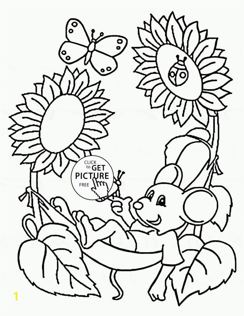 Fresh Spring Coloring Pages Free Printable More Image Ideas