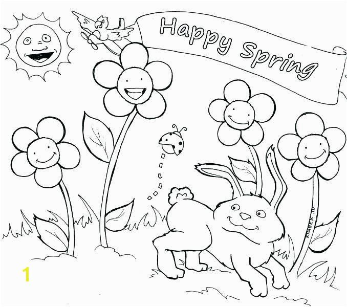 Spring Coloring Sheets Free Printable Daffodil Coloring Page Concept Spring Coloring Pages for Preschoolers