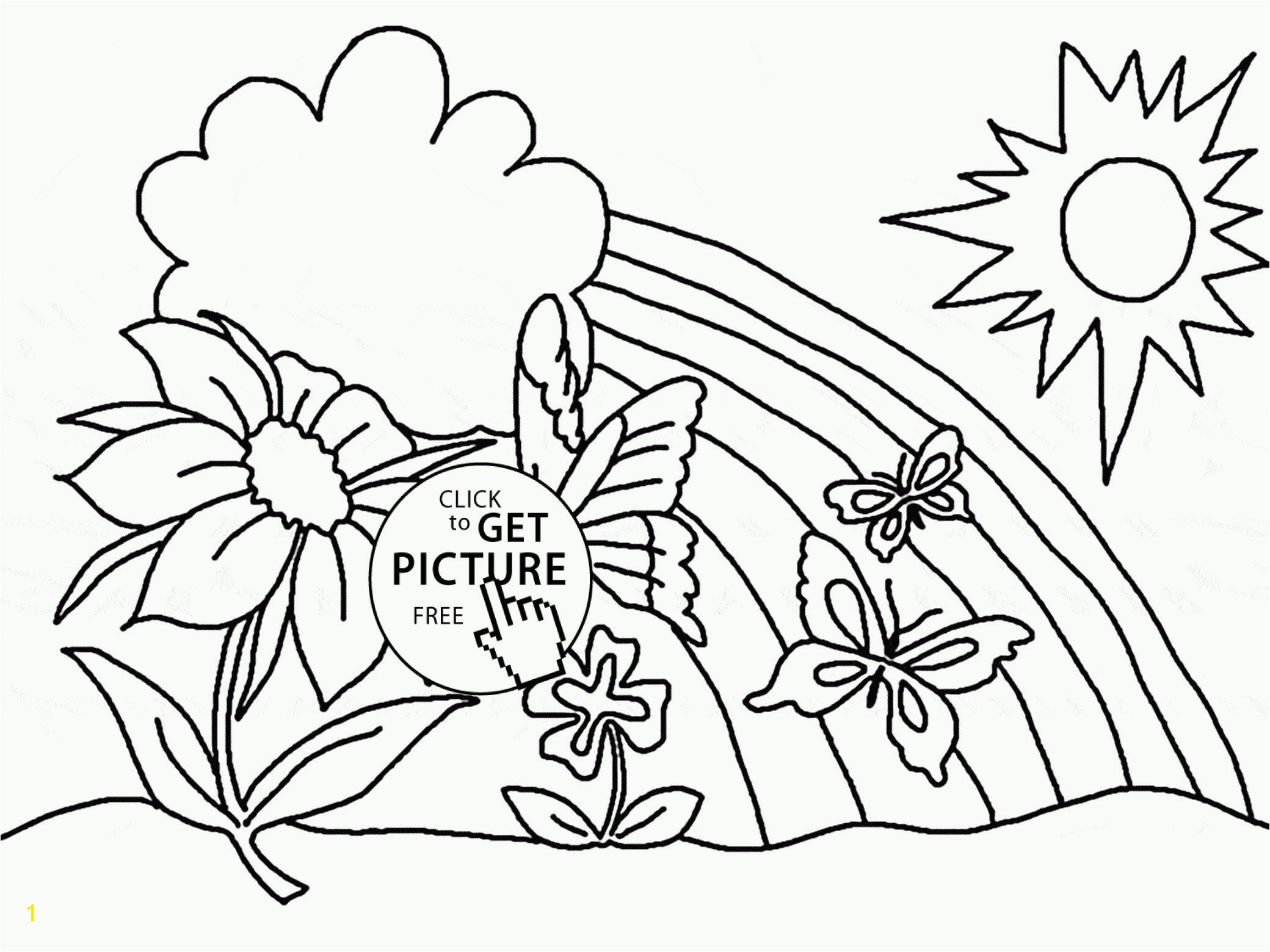 Flower Coloring Pages to Print Spring Coloring Pages Spring Coloring Pages Best Printable Cds 0d