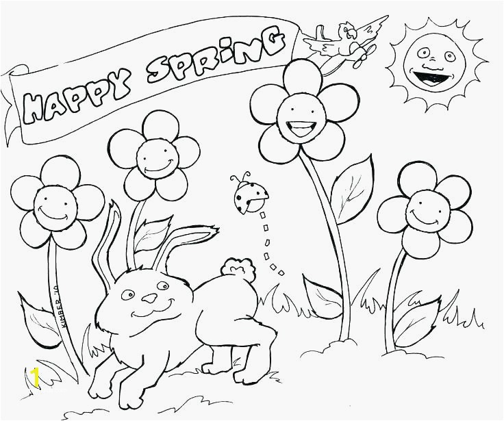 Spring Flowers Coloring Pages Free Printable Flower Coloring Pages Mesmerizing Spring Season