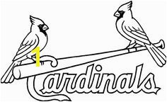 St Louis Cardinals Logo Coloring Pages Free St Louis Cardinals Logos