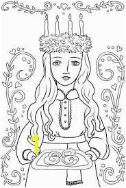 Lucia Ornament Coloring page for printable version