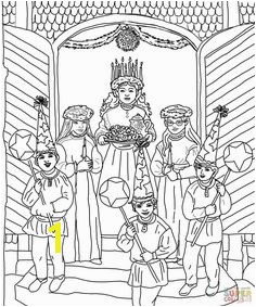 Printable Coloring Pages · santa lucia fargelegging Google s¸k