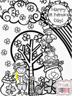 St Patrick s Day Coloring Page on Proud to be Primary