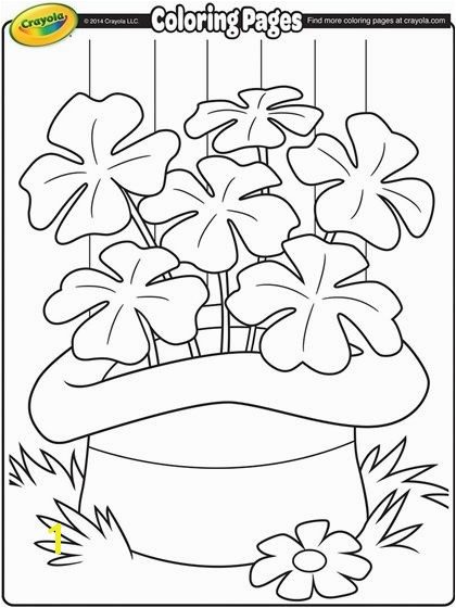 Saint Patrick s Day Coloring Page from Crayola Your children will love this fun Saint Patrick s Day activity