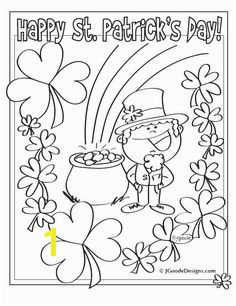 coloring page · St Patrick s Day