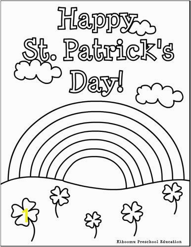 St Patrick S Day Leprechaun Coloring Page St Patrick S Day Coloring
