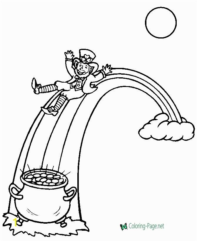 St Patrick S Day Leprechaun Coloring Page St Patrick´s Day Coloring Pages