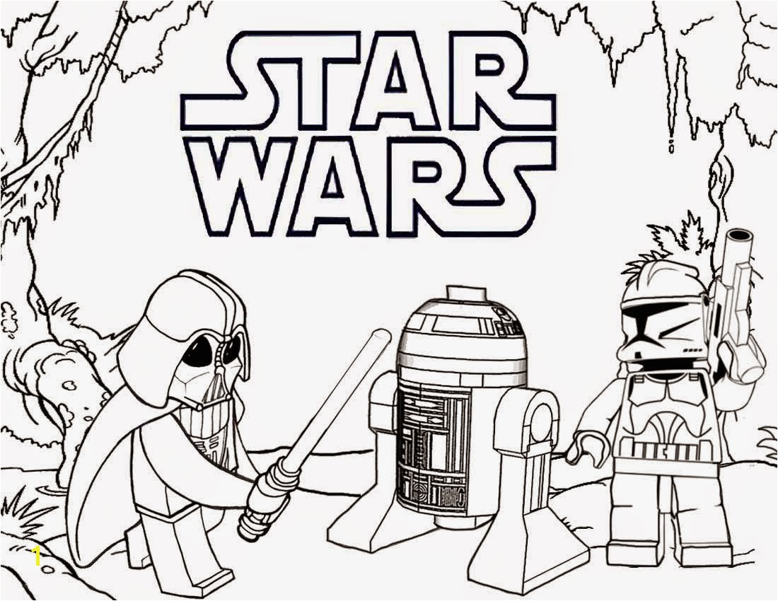 Lego Star Wars Free Coloring Page Kids Movies Inside Color Pages