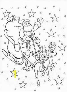 Santa & sleigh perhaps for stocking