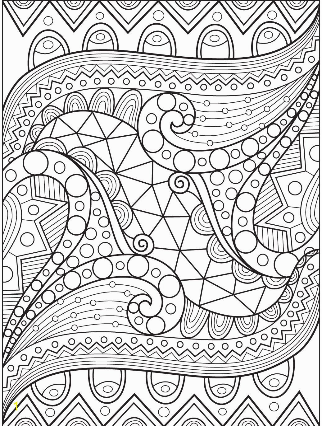 Stream Coloring Page Abstract Coloring Page On Colorish Coloring Book App for Adults by