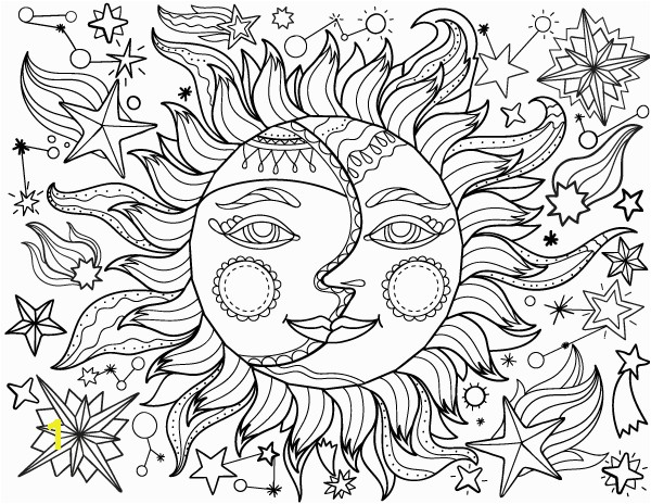 Sun and Moon Coloring Pages Pin by Muse Printables On Adult Coloring Pages at Coloringgarden