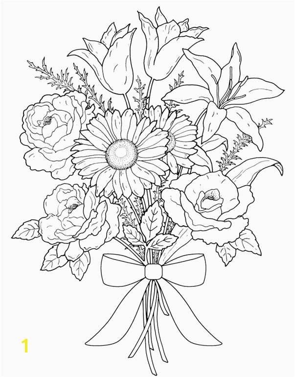 Vases Flowers In Vase Coloring Pages A Flower top I 0d Coloring Flowercoloring Pages