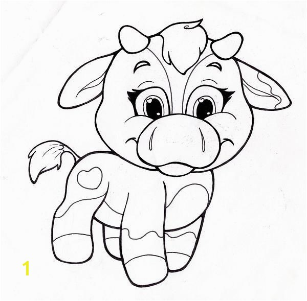 Image detail for coloring page with cute cow cow line art coloring page line art of cow