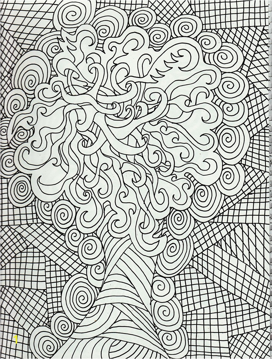 Super Hard Abstract Coloring Pages for Adults Adult Coloring Pages Dr Odd