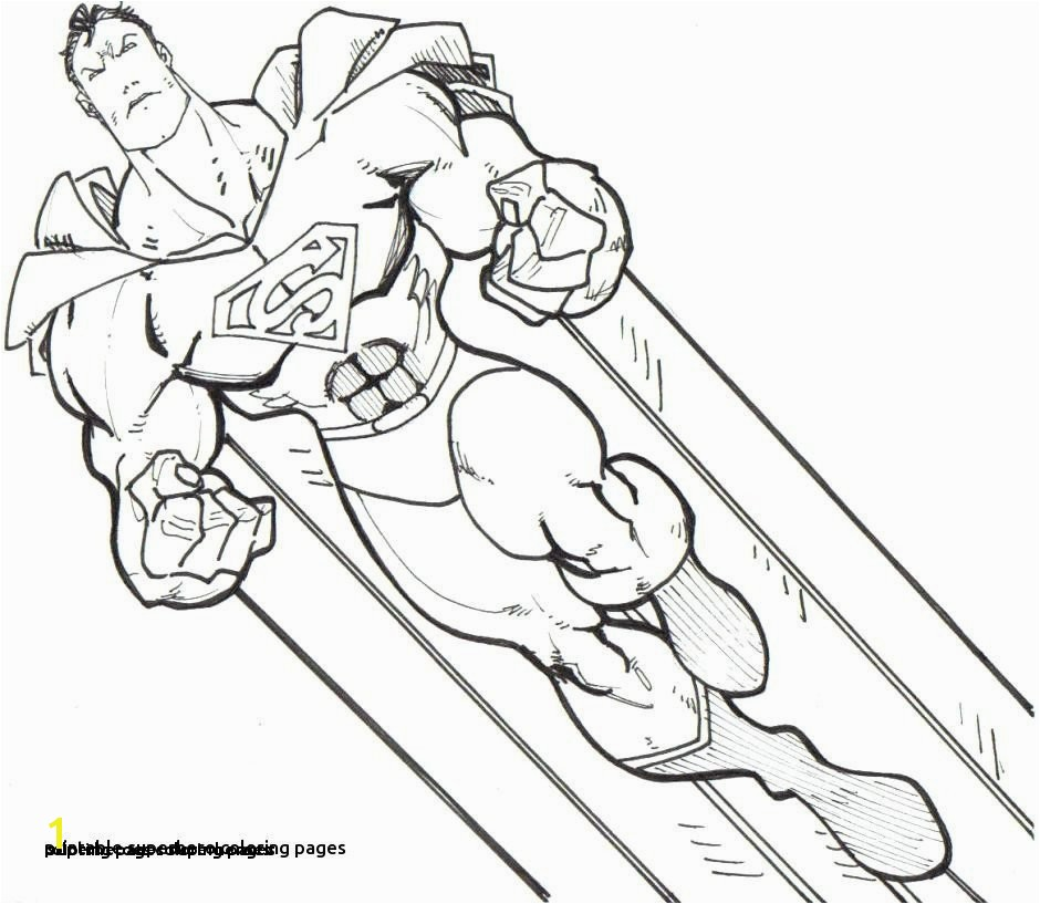 26 Coloring Pages Superheroes