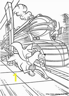 Krypto the Superdog line coloring pages Printable coloring book for kids 61