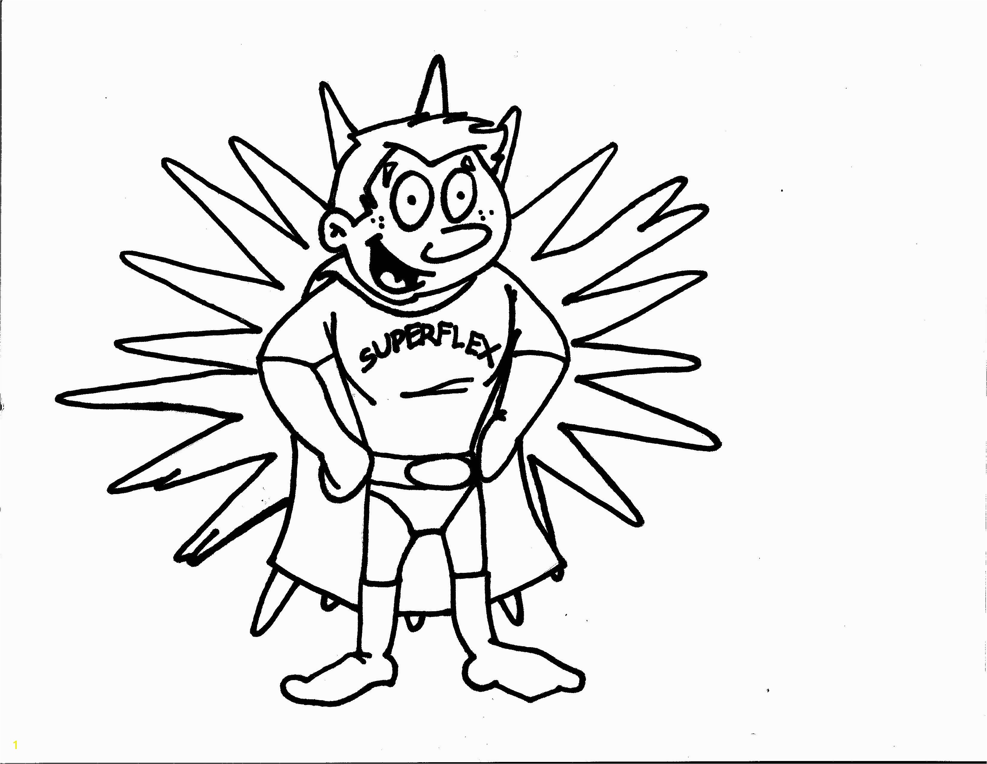 Superflex Coloring Page For each character Identify the Problem each Unthinkable Causes and the Strategies Superflex uses to defeat the Unthinkable