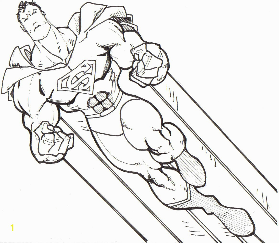 Superman Coloring Pages Superheroes Printables