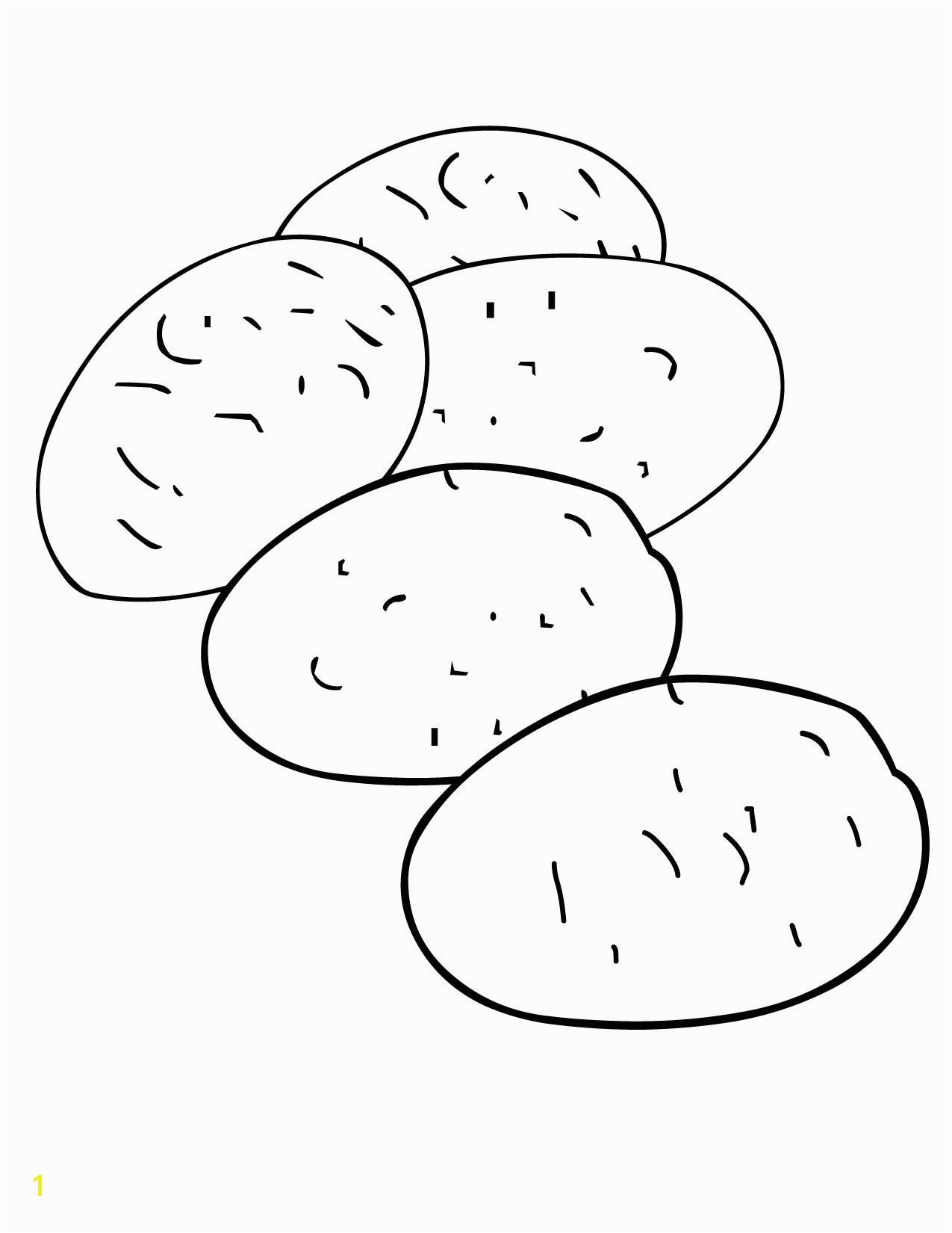 Sweet Potato Coloring Page Collection Of Coloring Pages Of Potatoes