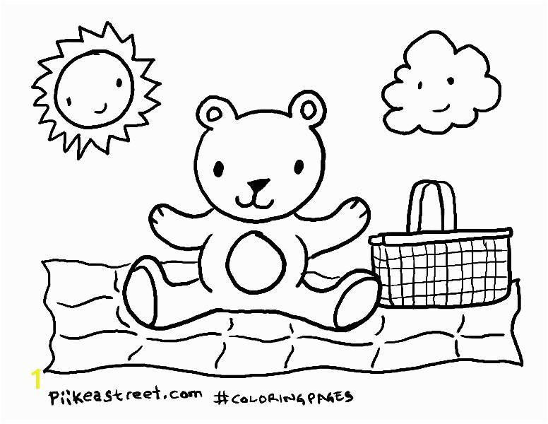 pscoloringpages teddybearpicnic