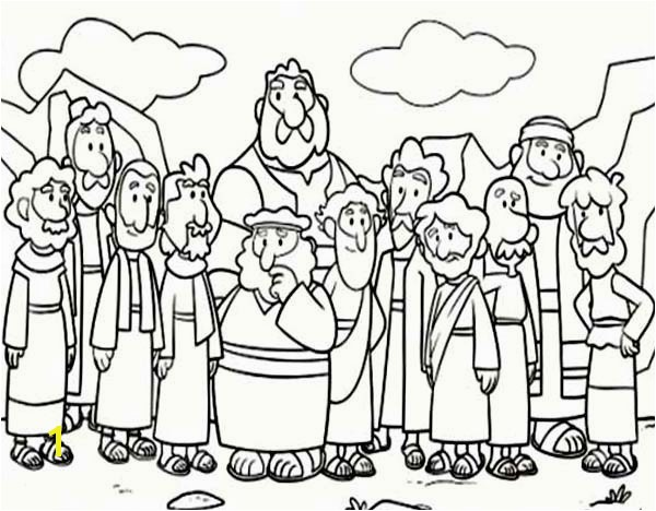 10 mandments Coloring Pages Luxury Ten Mandments Coloring Pages New Cartoon Od Jesus Disciples 10