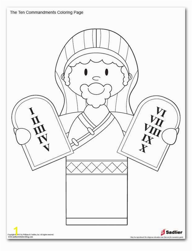 Free Printable Ten mandments Coloring Pages Fresh Ten Mandments Colouring Pages Page 2