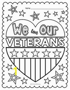 Veteran s Day Coloring Pages More