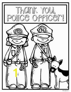 Thank You Police Officer Coloring Page 25 Best Coloring Pages Police Images On Pinterest