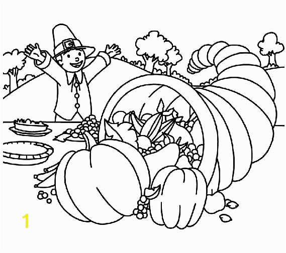 Crayola Thanksgiving Coloring Page