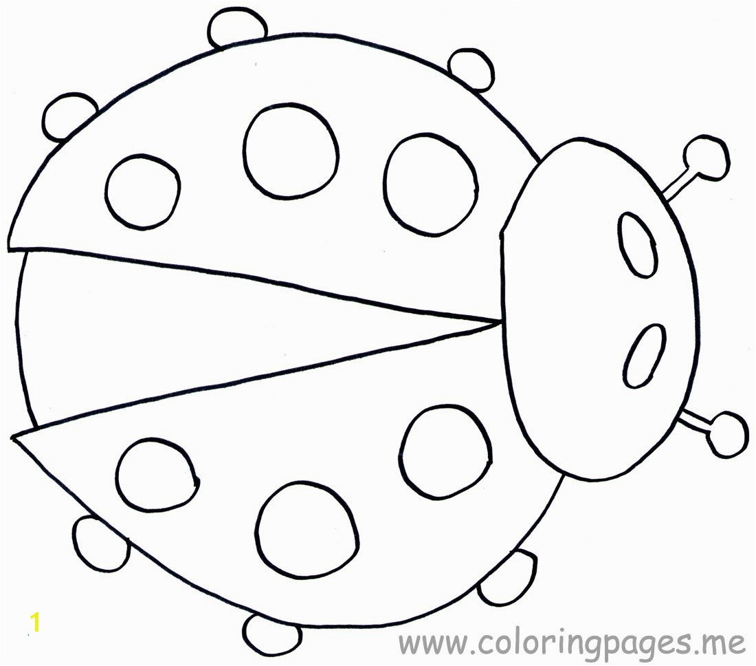 The Grouchy Ladybug Coloring Pages Awesome Ladybug Coloring Page