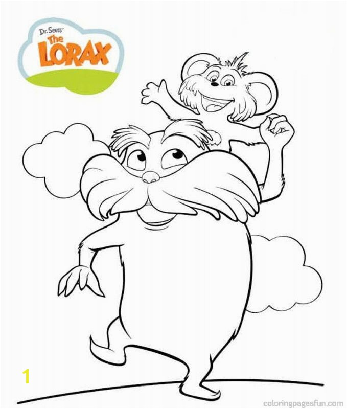 Dr Seuss the Lorax Coloring Pages 7 Free Printable Coloring Pages Coloringpagesfun